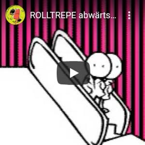 Animation Hanau Rolltreppe